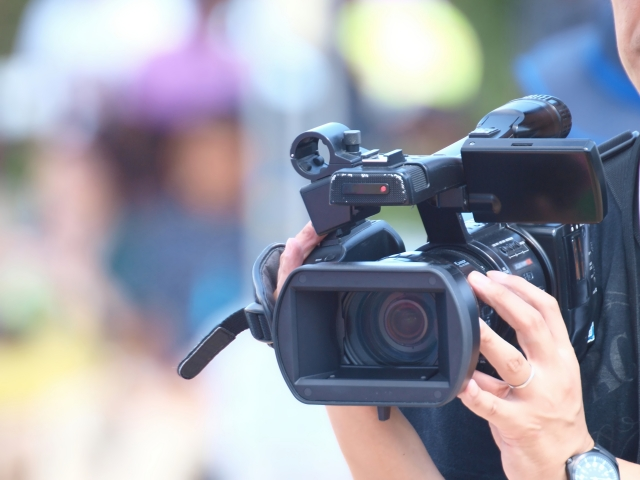 NHKのカメラマン